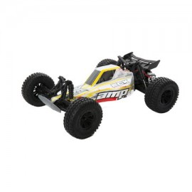 AMP 1:10 2WD Desert Buggy: White/Yellow/Red RTR INT