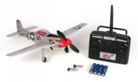 MICRO P-51 MUSTANG RTF 2.4GHZ (MODE 2)