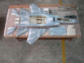 Flyeaglejet ARF PLUS F-15c 1:9  (Camouflage paint)