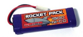 5000 7.2 volt Ni-Cd Stick Pack with Tamiya Plug
