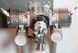 DZY 48cc FLAT TWIN PETROL ENGINE